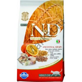 N&D Low Grain Cat Codfish & Orange