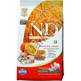 N&D Low Grain Codfish & Orange Adult - корм для взрослых собак с треской и апельсином
