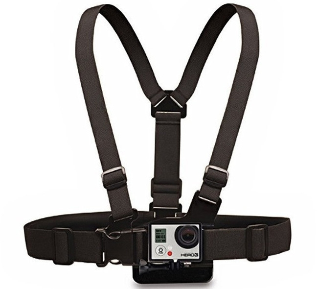 Ремень ST-58 нагрудный с адаптером для GoPro Hero 3/3+