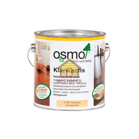 Масло с воском для твердых пород Osmo Klarwachs 1101 Бесцветное