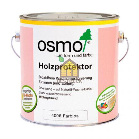 Пропитка с водоотталкивающим эффектом OSMO Holzprotektor 4006 для внутренних и наружных работ