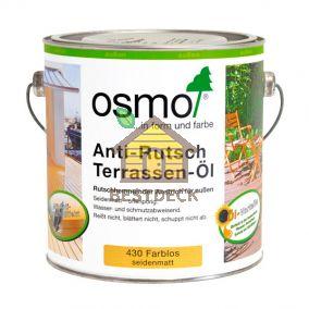 Масло для террас с антискользящим эффектом. Osmo Anti-Rutsch Terrassen-Ol 430 бесцветное