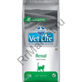 Farmina Vet Life Cat Renal-при почечной недостаточности