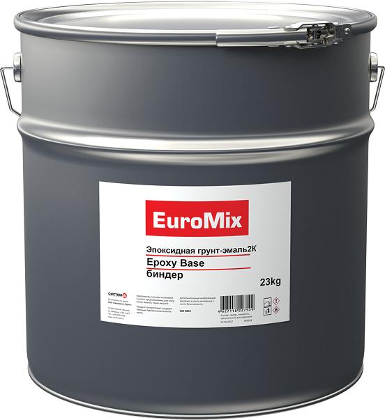 EuroMix Грунт-эмаль 2К антикоррозийная эпоксидная Epoxy Base, биндер, 23кг.