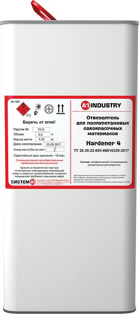 EuroMix Отвердитель для ПУ ЛКМ № 004, 5л.