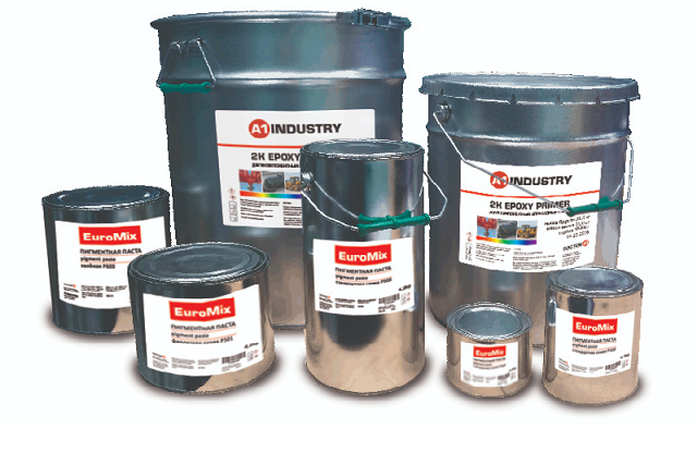 EuroMix Грунт 2К кислотный антикорозионный Wash Primer 2К, 18л.