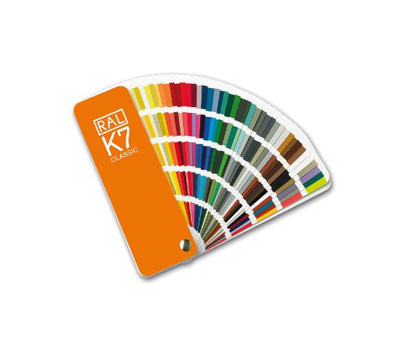 EuroMix Каталог цветов RAL-K7, размер 1 цвета 50мм. на 20мм.