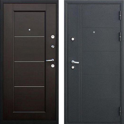 Входная дверь FERRUM10 СМ (венге)