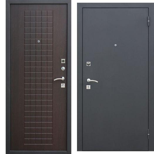 Входная дверь ГАРДА МУАР 8 мм (венге)