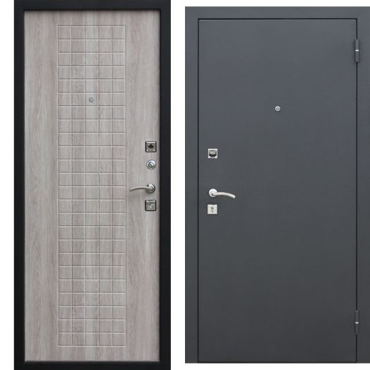 Входная дверь ГАРДА МУАР 8 мм (дуб сонома)