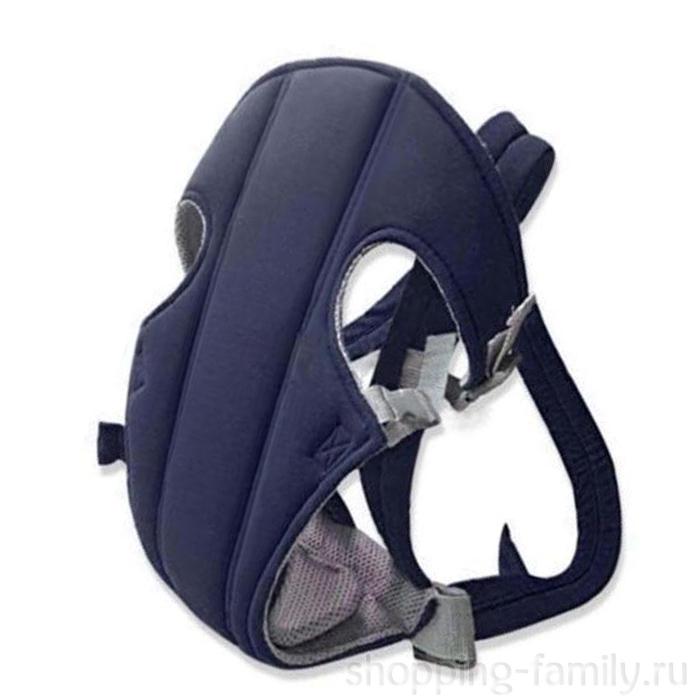 Рюкзак-слинг для переноски ребенка Baby Carriers, Цвет Синий