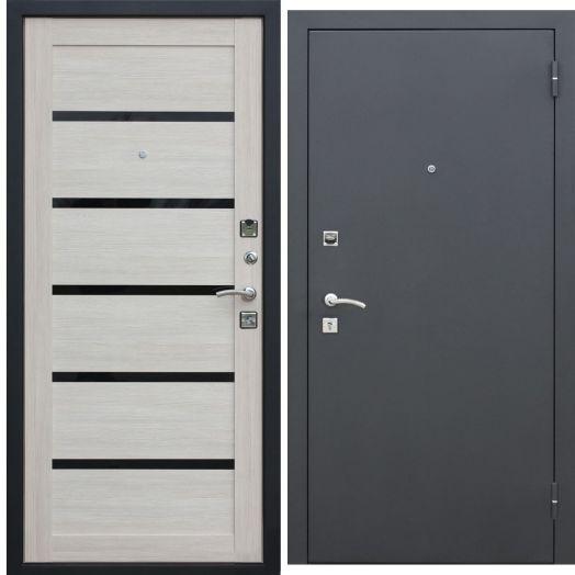Входная дверь ГАРДА МУАР ЦАРГА 22 мм (лиственница мокко)