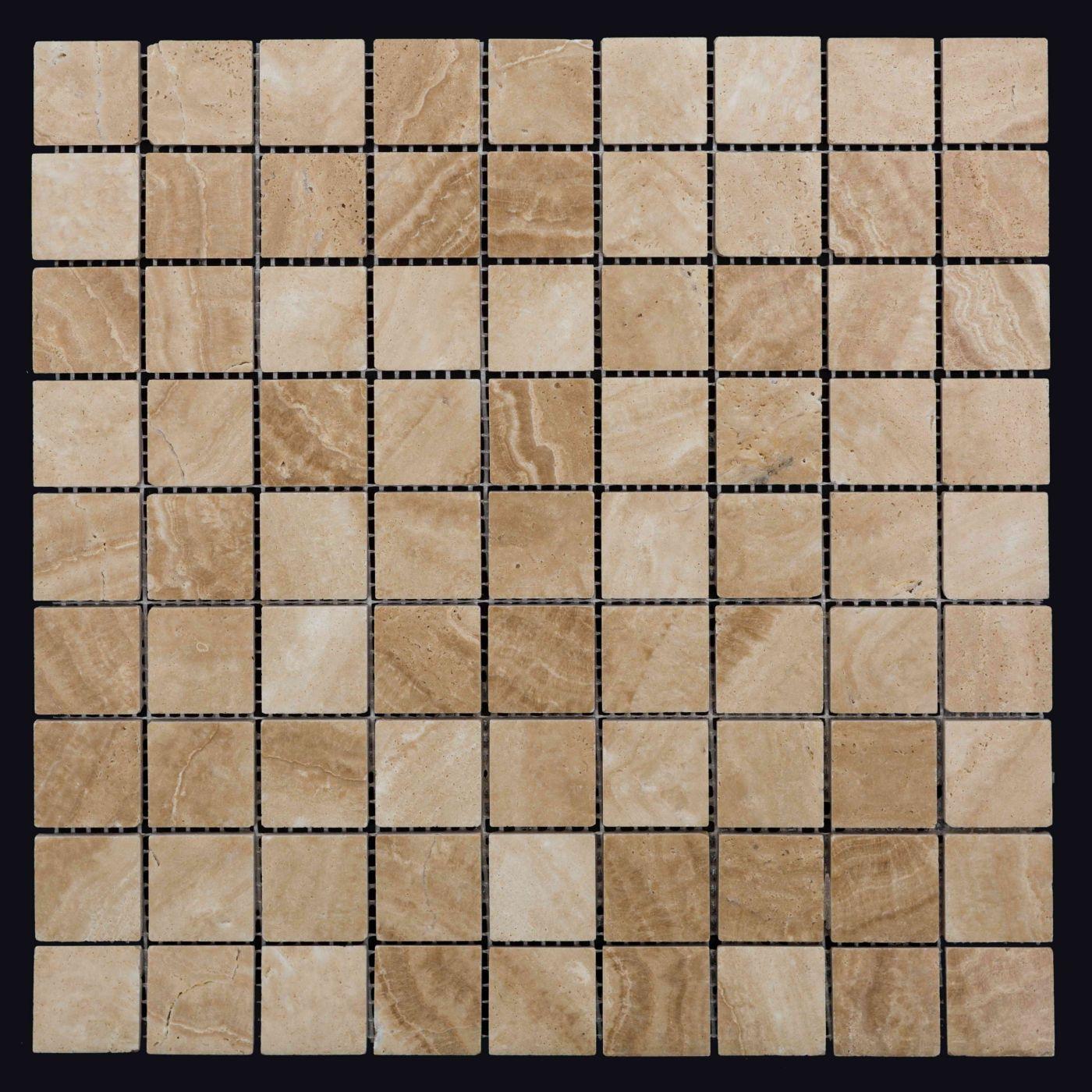 Мозаика из травертина ART. MZ004