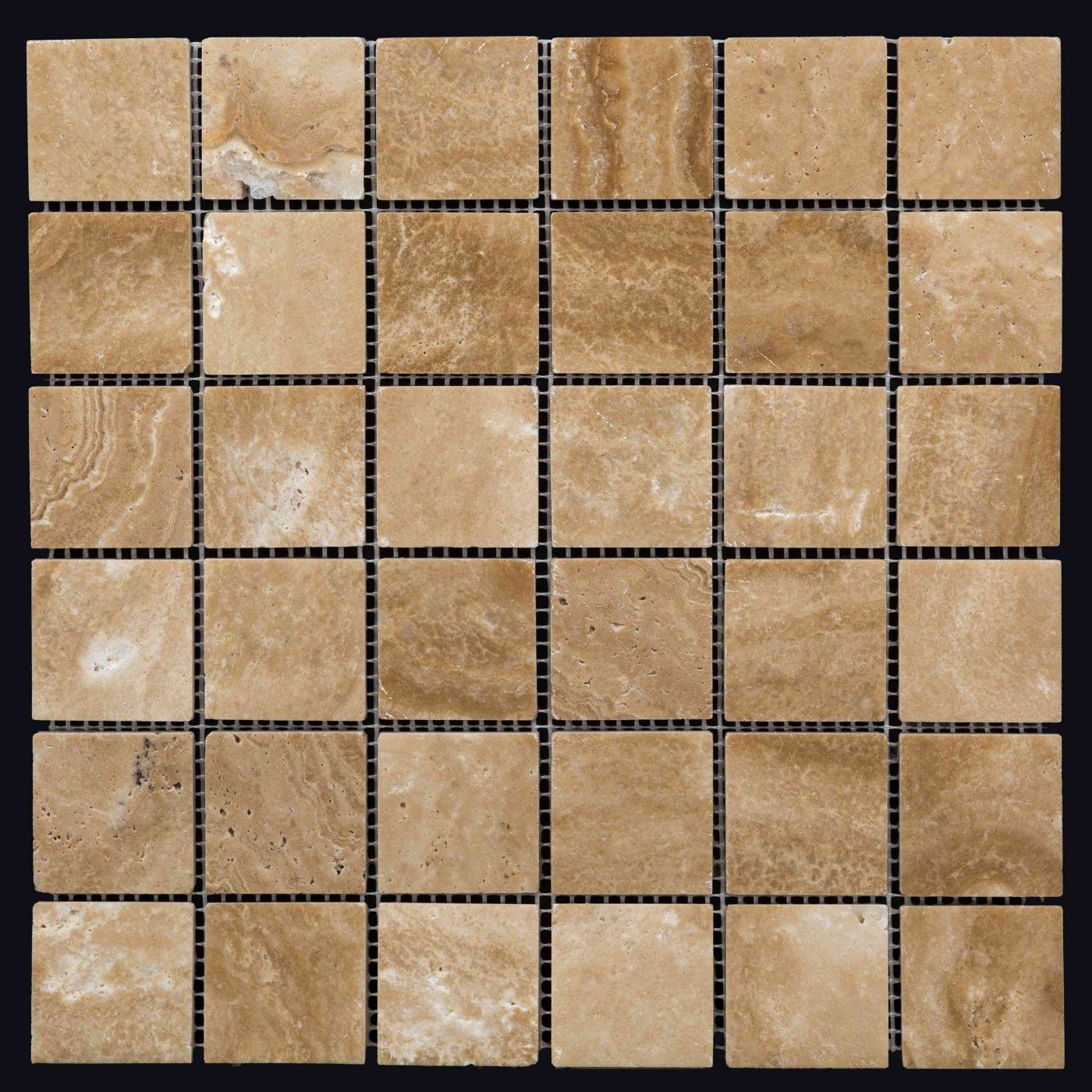 Мозаика из травертина ART.MZ005