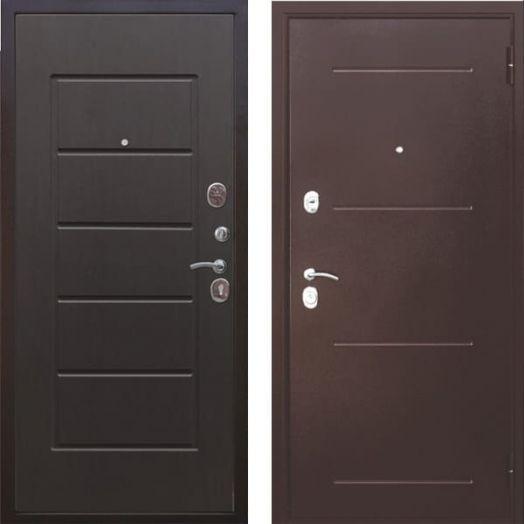 Входная дверь ГАРДА МУАР 7,5 см (венге)