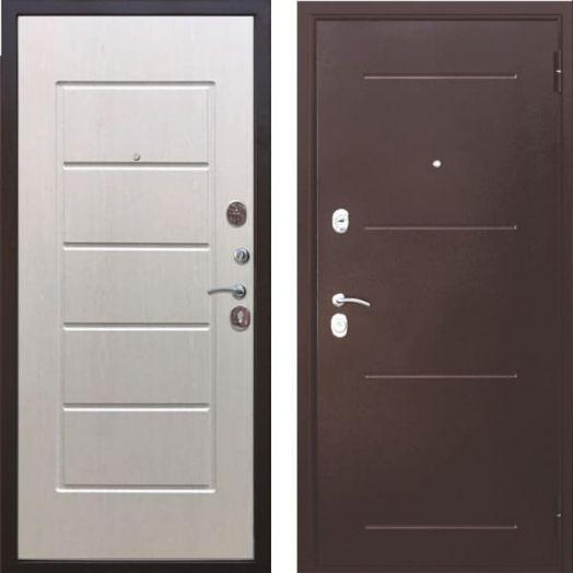 Входная дверь ГАРДА МУАР 7,5 см (белый ясень)