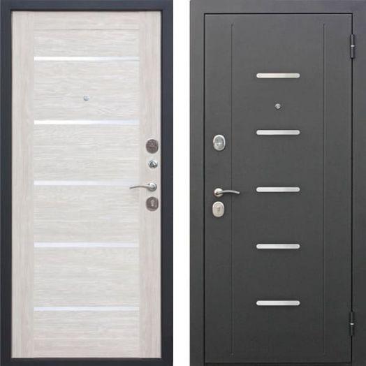 Входная дверь ГАРДА МУАР ЦАРГА 7,5 см (лиственница бежевая)