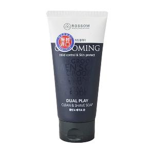 Мужская очищающая пена 2в1 для умывания и бритья Dual play Clean & Shave soap