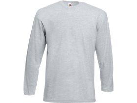 Футболка с длинным рукавом «Valueweight T» мужская, серый меланж S, L, XL (арт. 61038094)