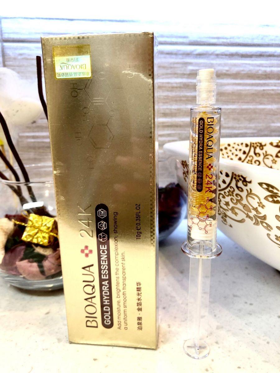 Сыворотка Gold Hydra  с частицами золота и гиалуроновой кислотой, 10 гр