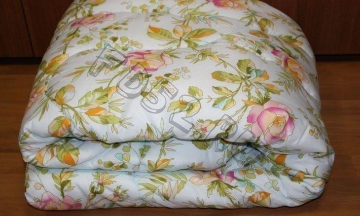 Одеяло детское ЗИМА полиэфир 110*140 цветное (пл. 300 гр/2), чехол бязь