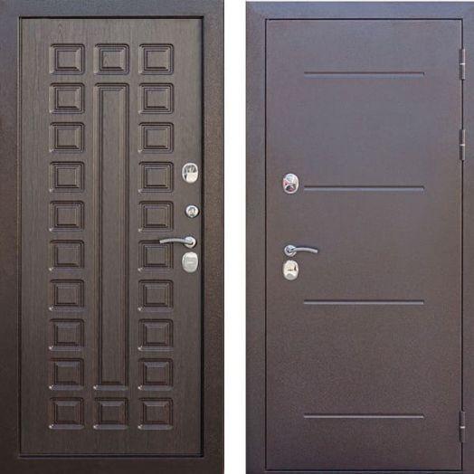 Входная дверь ИЗОТЕРМА 11 см венге
