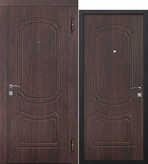 Входная дверь Классик Темный Кипарис 45мм