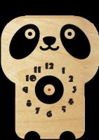 Часы настенные панда
