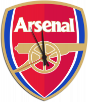 Часы настенные футбольный клуб Арсенал