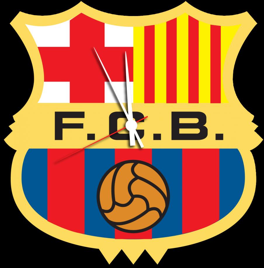 Часы настенные футбольный клуб Барселона