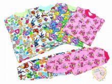 Пижамы доступны в ассортименте с разными рисунками для мальчиков и девочек