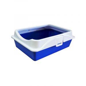 Туалет RICH с рамкой на защелках 41*30*14 см Zooexpress