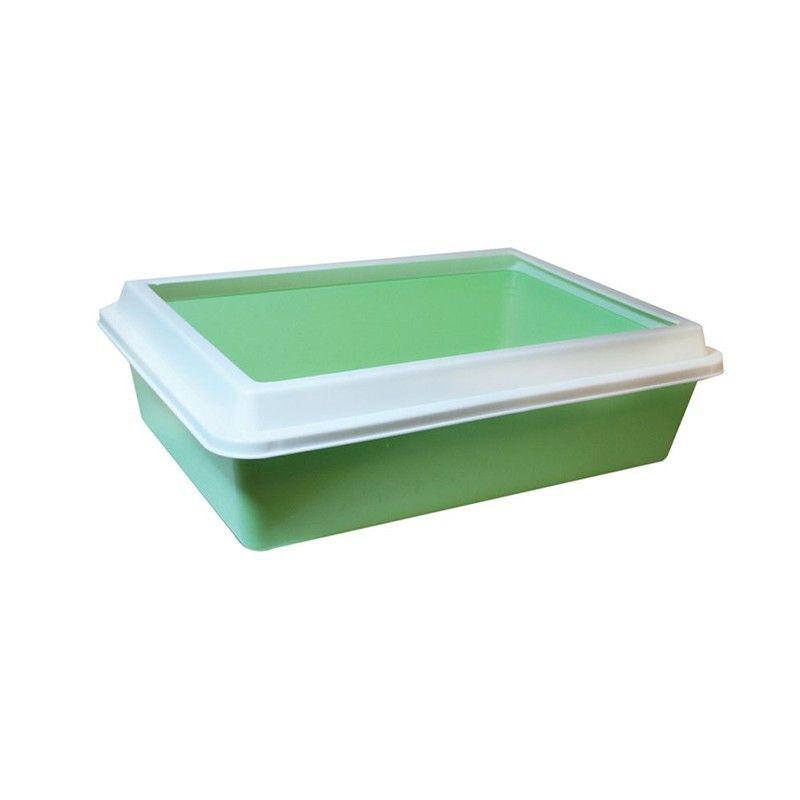 Туалет LUX с рамкой 41*30*12 см  Zooexpress
