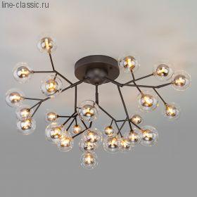 Потолочная люстра со стеклянными плафонами 544 Серия: Pallina
