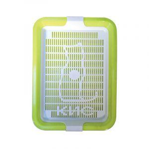 Туалет КИС с сеткой малый 32,5*23,5*5 см Zooexpress