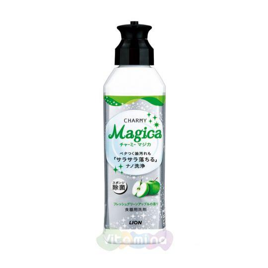 """Lion Средство для мытья посуды """"Charmy Magica"""" (концентрированное, с ароматом зеленого яблока) 230мл"""