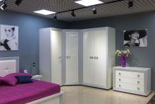 Шкаф НАОМИ для одежды (угловой) эмаль