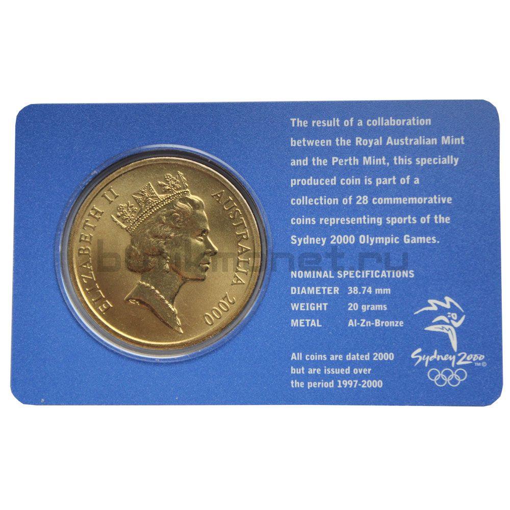 5 долларов 2000 Австралия Легкая атлетика (Олимпийские игры в Сиднее)