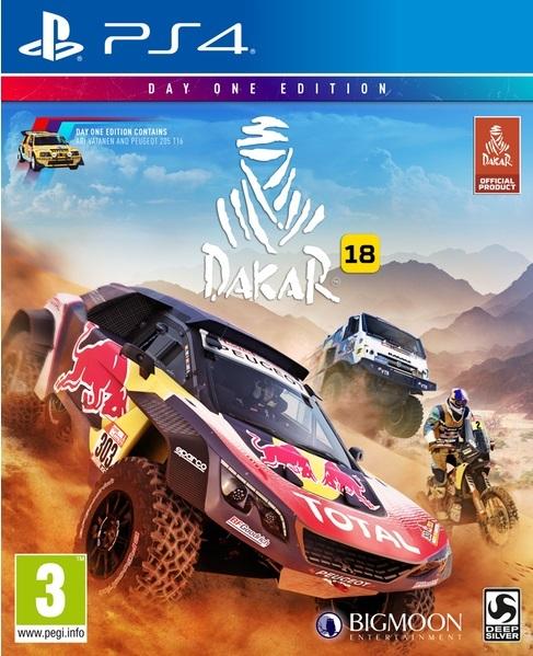 Игра Dakar 18 (PS4)