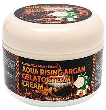 Антивозрастной крем для лица АРГАНОВОЕ МАСЛО Elizavecca Aqua Rising Argan Gelato Steam Cream, 100 гр