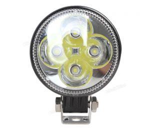 Круглая светодиодная LED фара 12W Spot
