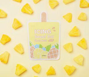 Icing Sweet Bar Sheet Mask (Pineapple) Маска-мороженное листовая, 21 гр