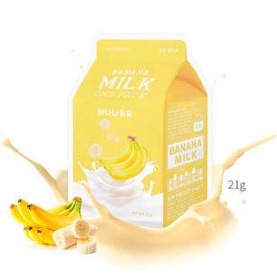 Banana Milk One-Pack Маска для лица тканевая, 21 гр