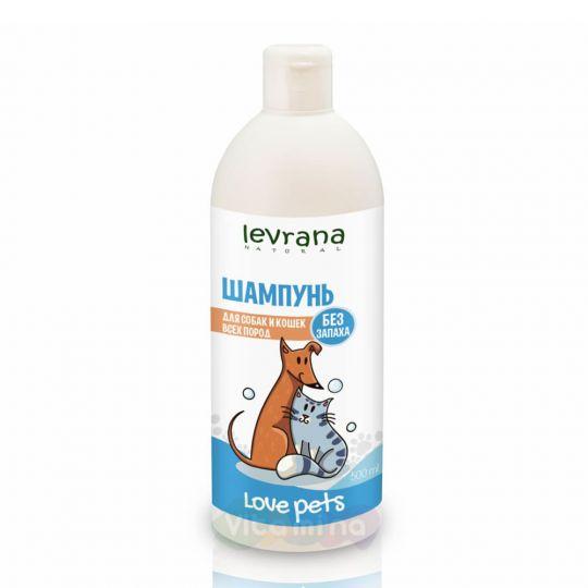 Levrana Шампунь для собак и кошек всех пород (без аромата), 500 мл