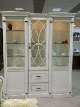 Шкаф ЭЛЕГАНЦА для посуды 3-дверный эмаль