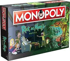 MONOPOLY: Rick and Morty / Монополия: Рик и Морти