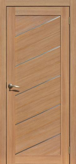 Дверь межкомнатная Мадрид Дуб сантьяго   (Цена за комплект)