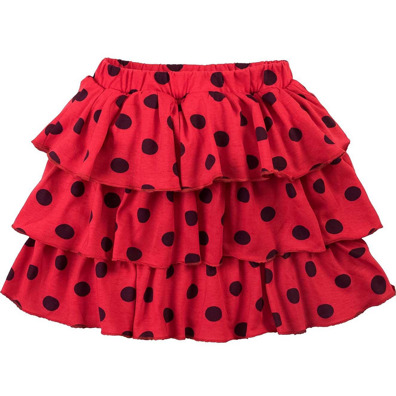 Юбка для девочек Bonito красная