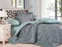 Комплект постельного белья Сатин-жаккард  Royal  евро  Арт.31/011-RG