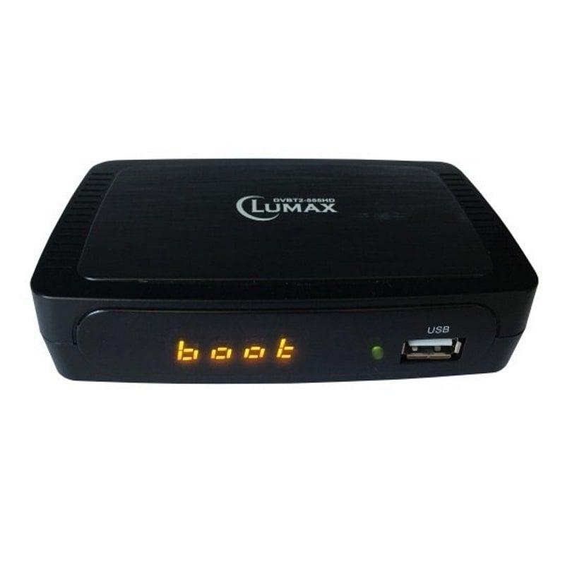 DVB-T2 ресивер LUMAX DVT2-555HD
